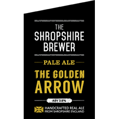 Shropshire Brewer The Golden Arrow Pale Ale (500mL)