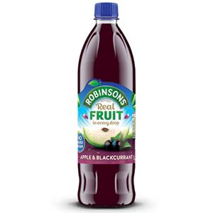 Robinsons No Added Sugar Apple & Blackcurrant Squash (1L)