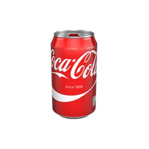 Coca Cola can (330ml)