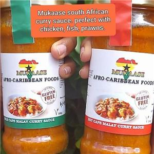 Mukasse South African Cape Malay Curry Sauce - mild (500g)