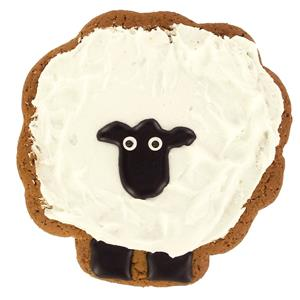 Image on Food Deluxe Gingerbread Sheep (60g)