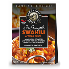 Shropshire Spice So Simple Swahili African Curry Mix (40g)