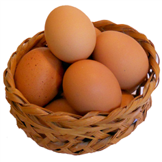 Free Range Eggs - box of 6 (mixed sizes)