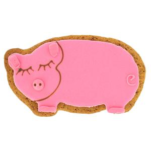 Image on Food Deluxe Gingerbread Pig (60g)